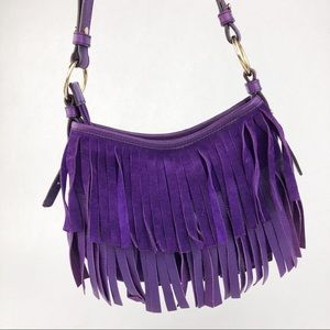 YSL | Purple Fringe Purse
